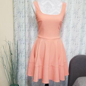 Lulu's Peach Dress